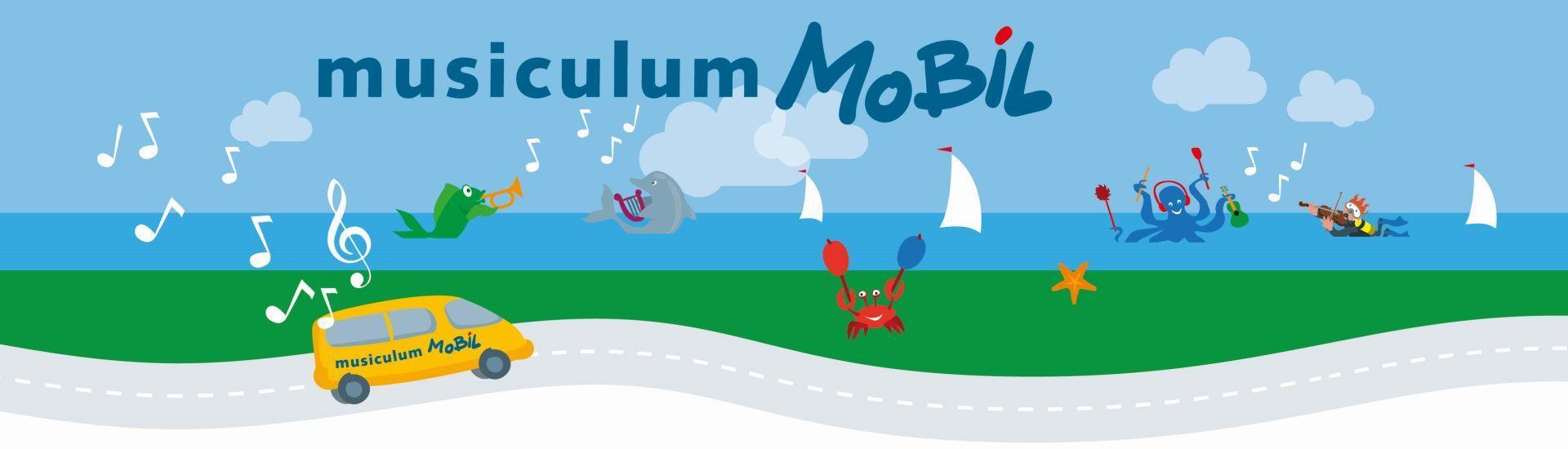 Musiculum Mobil auf großer Fahrt